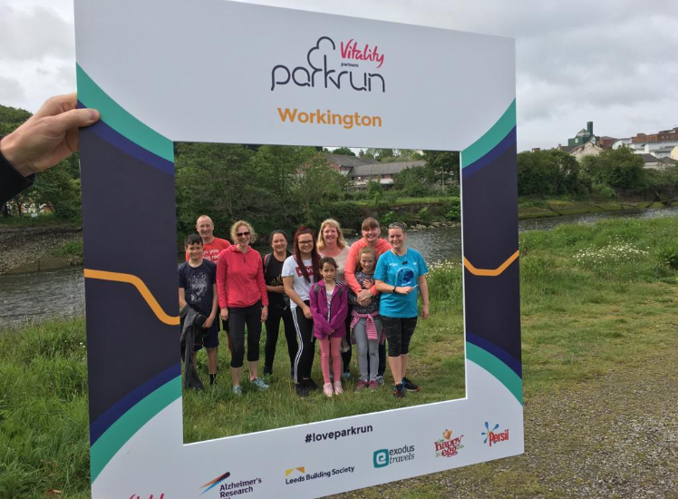 Team Distington - Park Run June 2019